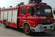 Grande capacité tianjian lutte contre l'incendie camion chine fabricant, 4 x 2 camion de pompiers utilisé
