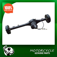 Small afterburner rear axle for tricycle parts