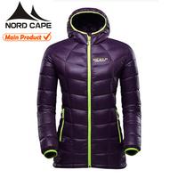 Custom high quality fashion women winter coats long down