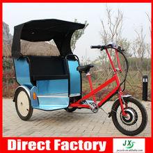 Wider Body 500w 48V Electric Pedicab/battery rickshaw