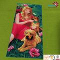 2014 novos produtos sexo com mulheres e animais impresso toalha de praia
