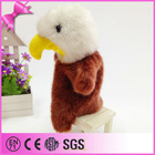 new design owl plush toy puppet made in china 2014