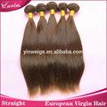 Calidad barato indio del pelo humano remy/marrón oscuro h