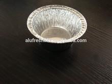 Aluminum material & container type aluminum foil container for custard tart China professional manufacturer