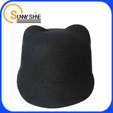 Sunny Shine custom black fedora bucket hats