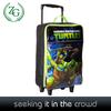 2014 latest hot sale kids cartoon lightweight soft rolling travel wheeled carry on duffel bag