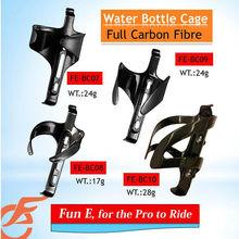 Bicycle 3K Clear or UD Matte Carbon Fibre Bottle Cage