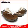 2014 o mais popular quente sandália da china couro pu chinelo com perfeita total coberta de couro
