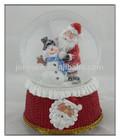 2014 New Desgin Red snow globe,Christmas Santa Snow Globe