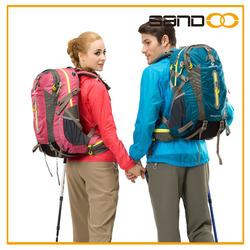 Quanzhou factory outdoor backpacker camping bag, travel waterproof hiking backpack