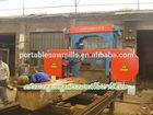bandsaw horizontal sawing machine / band saw mill