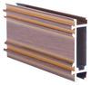 Good quality wood finish ALUMINUM PROFILE