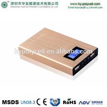 6000mAh high Brightness LED Hand Lamps Mobile Portable Power Bank