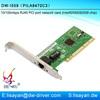 10/100mbps Intel 82559 RJ45 port ethernet PCI network adapter