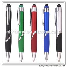 Plastic promotional stylus pen