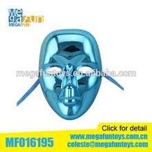Plating Blue mask beatiful Lady Party mask Cheap Plastic mask