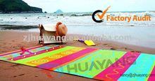 Plastic Jacquard Beach Mat