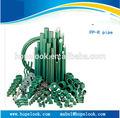 fábrica de profesionales para los tipos de plástico de la pipa de agua