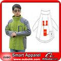 2014 degli uomini moda sci giacca con batteria sistema di riscaldamento elettrico batteria vestiti scaldati oubohk caldo