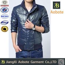 2015 hot selling waterproof outdoor man short duck down garment