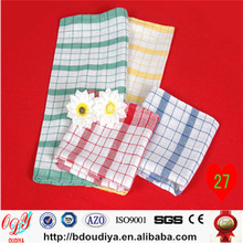 China Suppliers 100% Cotton plain weave wholesale kitchen cleaning towels
