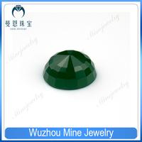 high quality oval malaysian jade pagoda glass pearl stones