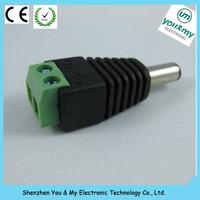 12v male female plug adapter jack connector CCTV Camera DC Connector