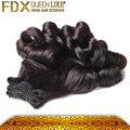 Más populares textura del cabello remy de la virgen del pelo extensión del pelo funmi