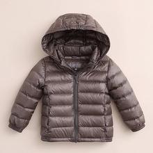 High quality fashion name brand kids winter coats