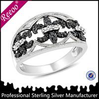 Fashion Fleur de lis ring design male jewelry