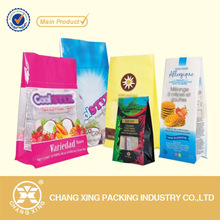OEM biscuit packaging design for packing powder materials like puffing food, peanut, gourmet, salt, biscuit, bean, seed, sweets