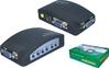 FY1302 av to vga converter box;AV to VGA CCTV adapter monitor box;box for cctv av converter to vga