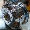 semi truck wheels chrome