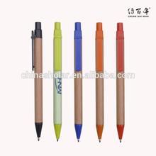 Promotion kraft tube executive eco pen