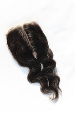 Xuchang hair factory for Middle/free/three parting lace closures