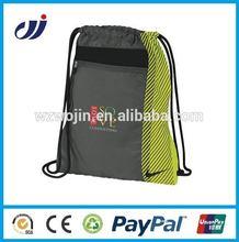 2014 Waterproof waterproof nylon drawstring gym bag logo/mini drawstring bags/drawstring bags backpack