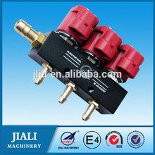 Lpg / gnc rampa de inyección del inyector del carril / lpg cng inyector para el sistema de inyección