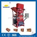 éco premium 2700 sol à emboîtement machine de brique/blocs de terre comprimée machines/brique d'argile faisant la machine