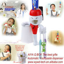 Q Auto Toothpaste dispenser hot new products for 2014 for children