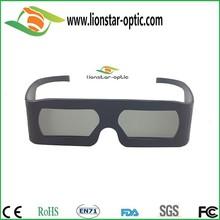 Grande quadro negócios linear polarizada óculos 3d para computador e tv