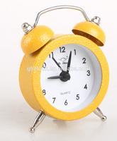 Mini twin bell alarm clock for gift