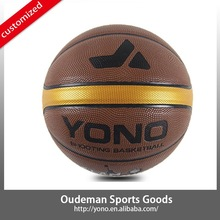 Wholesale New Mini Rubber PU Basketballs for Sale Custom Leather Basketballs ball YN-814 Cheap Price