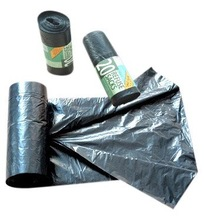 large plastic star sealed garbage bags