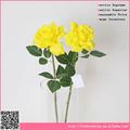 Boa aparência loose subiu flor artificial, flor artificial decorativa fazendo