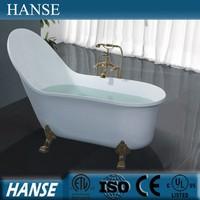 HS-B538 tall bathtubs/ clawfoot bath tub/ bath tub freestanding