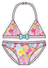 <OEM Serive>Bambino ingrosso costumi da bagno bikini ragazze, bikini costume da bagno sexy per bambine