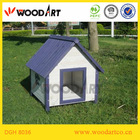 Elegant Design Wooden Dog Kennel with pointed roof
