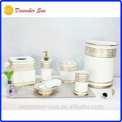 polyresin bath accessory,polyresin bath set,polyresin bathroom accessory