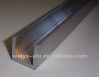 aluminium u channel extrusion profile