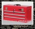 Productos populares caja de herramientas del cajón de tres capas